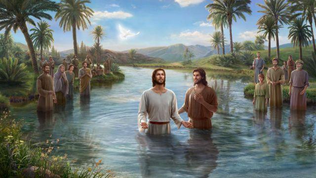 Cerita Alkitab:Yesus Dibaptis